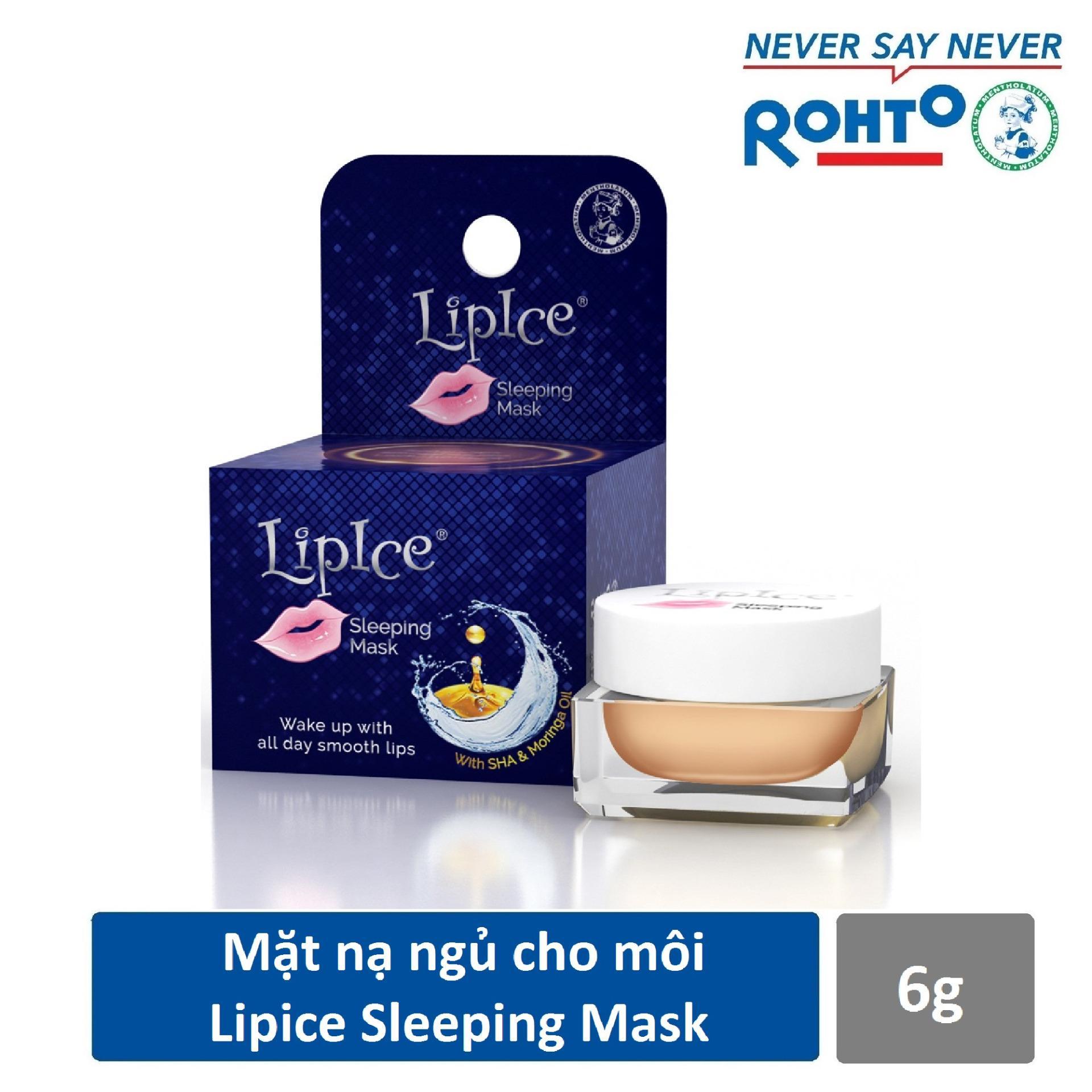 Mặt nạ ngủ cho môi LipIce Sleeping Mask 6g