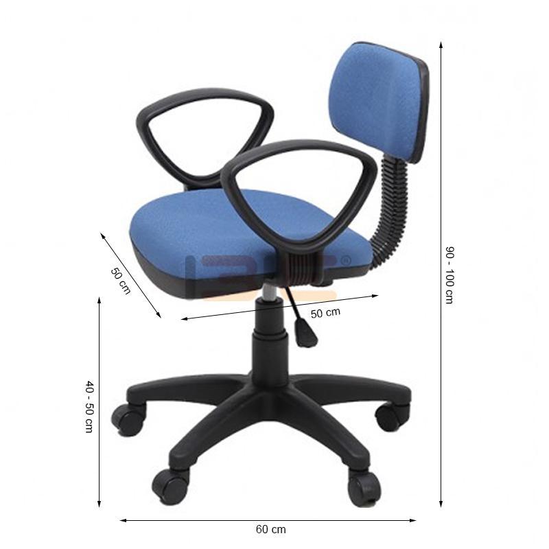 Kích thước ghế xoay IB026 có tay