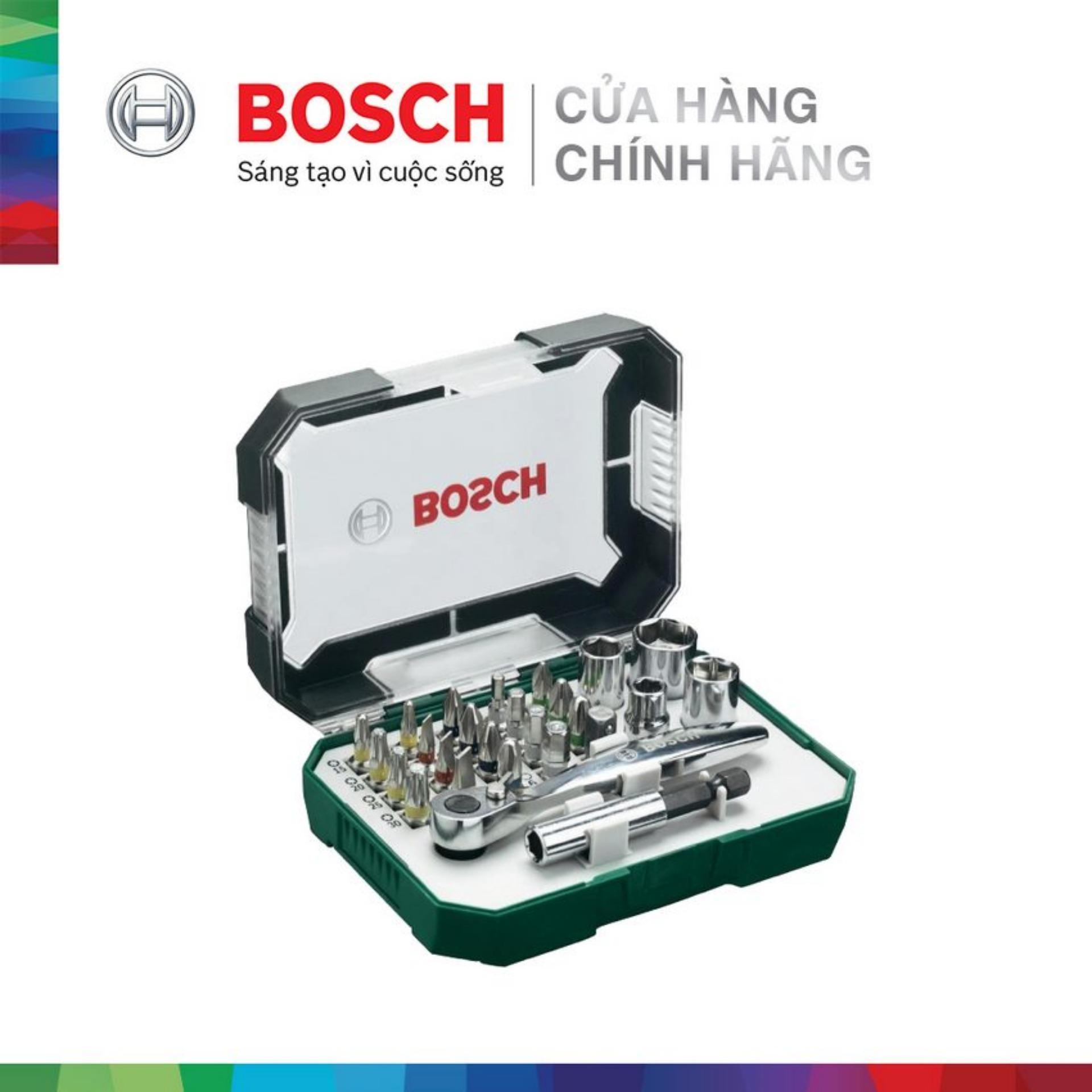 Bộ vặn vít Bosch 26 món 2607017322