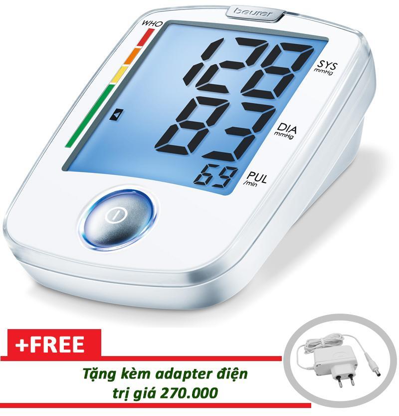 Nơi bán Máy đo huyết áp bắp tay Beurer BM44 tặng adapter