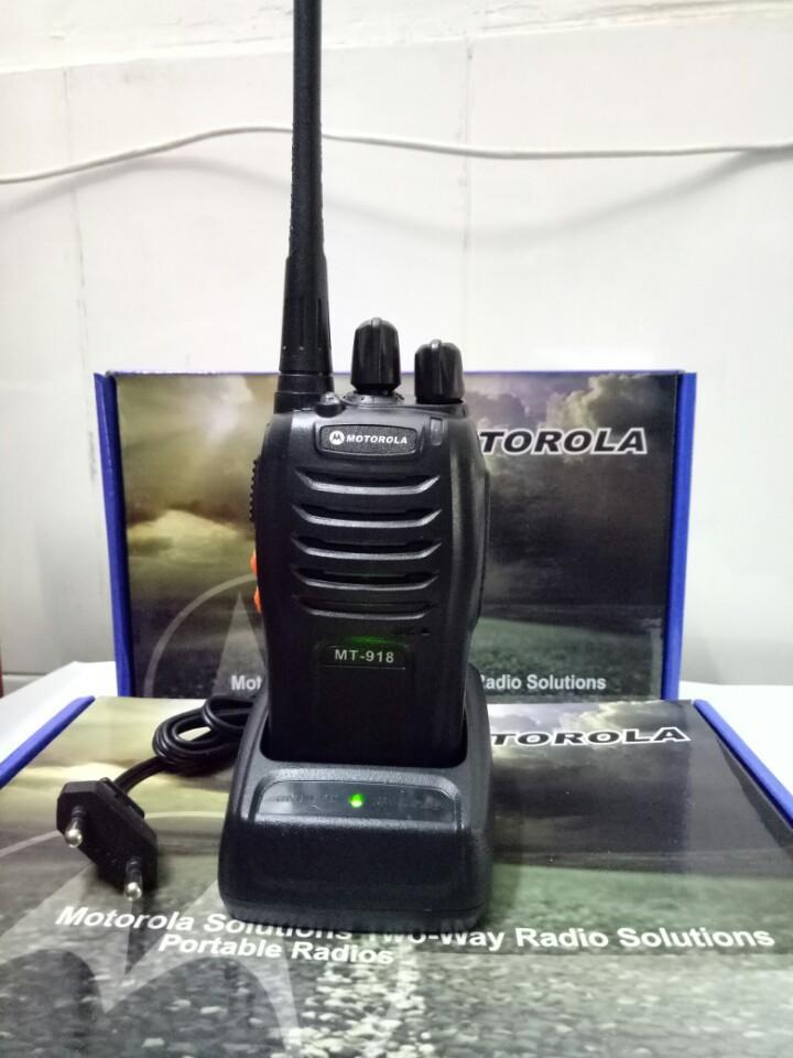 Hình ảnh Bộ 02 Máy bộ đàm Motorola MT 918 tặng tai nghe