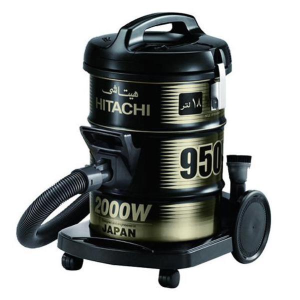 [Trả góp 0%]Máy hút bụi không túi Hitachi CV-950Y 18L