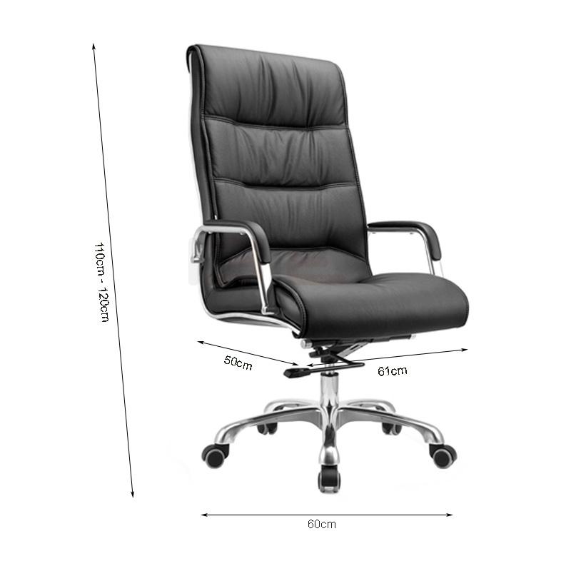 Kích thước ghế da Giam đốc IB204