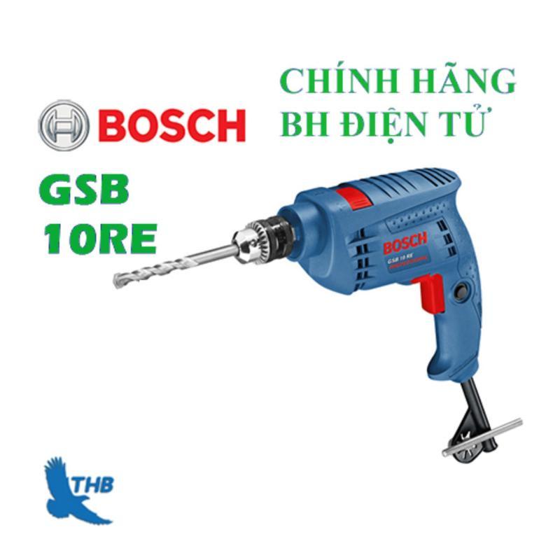 Bộ máy khoan động lực Bosch GSB 10 RE SET