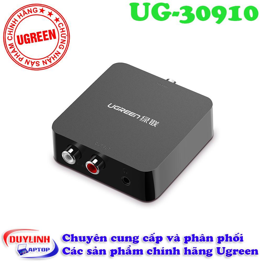 Hình ảnh Bộ chuyển đổi tín hiệu âm thanh từ Audio quang sang AV 3.5mm dành cho smart tivi 4K UGreen 30910