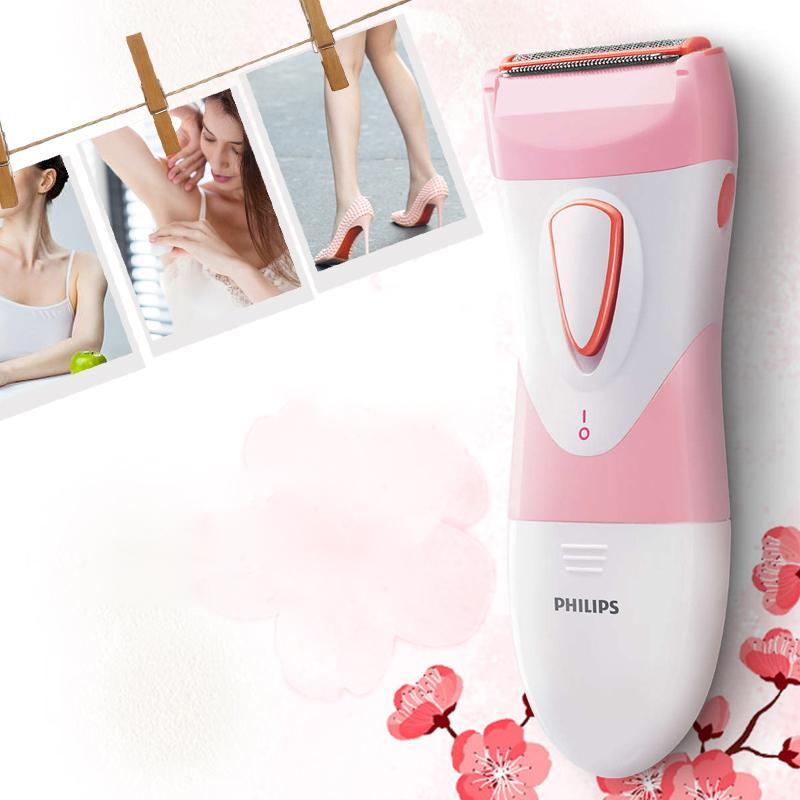 Máy làm sạch lông dành cho nữ Philips HP6306 - An toàn và dễ dàng