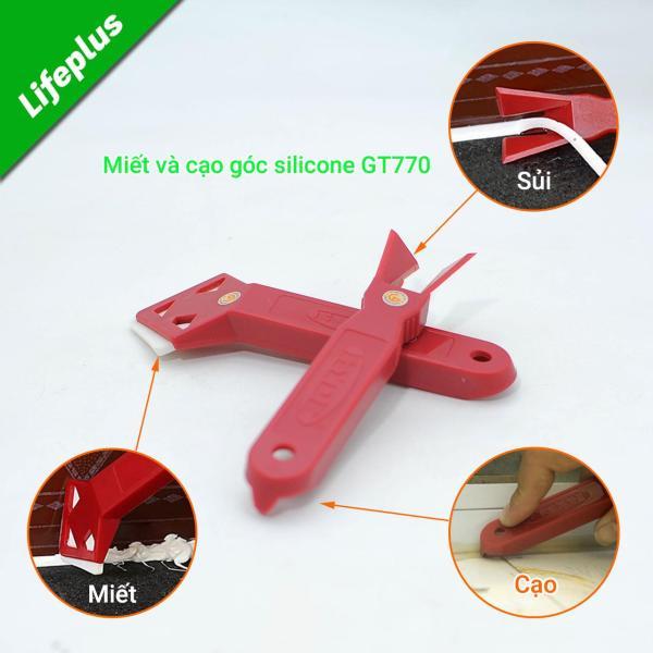 Miết mạch và cạo góc silicon GT770