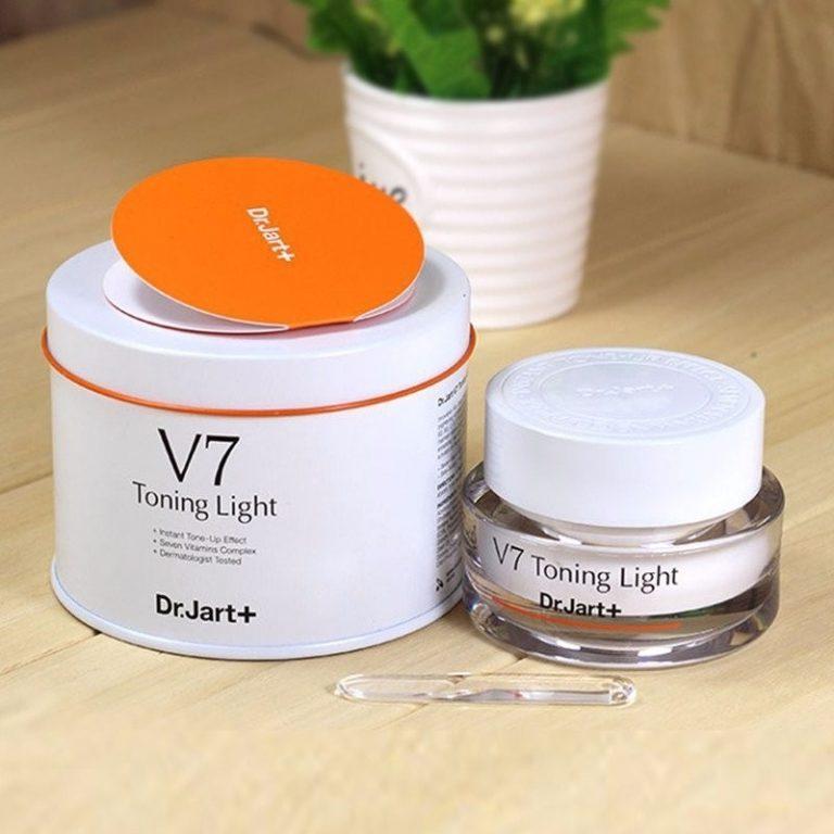 Hình ảnh KEM DƯỠNG TRẮNG VÀ TÁI TẠO DA V7 DR.JART TONING LIGHT HÀN QUỐC, sản phẩm mới
