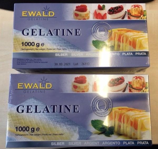 Lá Gelatine Đức sét 10 lá