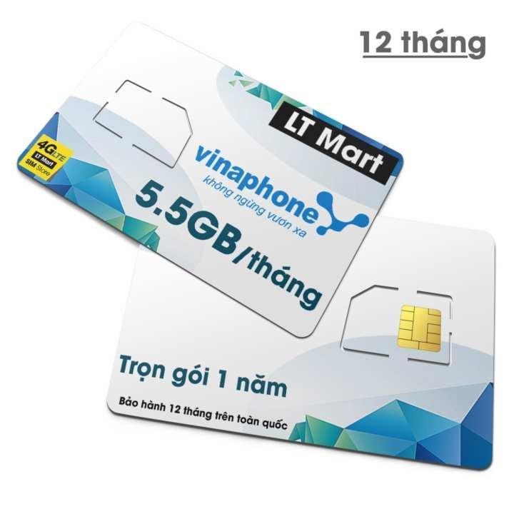 Giá Sim 4G Vinaphone D500 Vina12T Tặng 5GB/Tháng x 12 tháng Trọn Gói 1 Năm.free 1 năm.