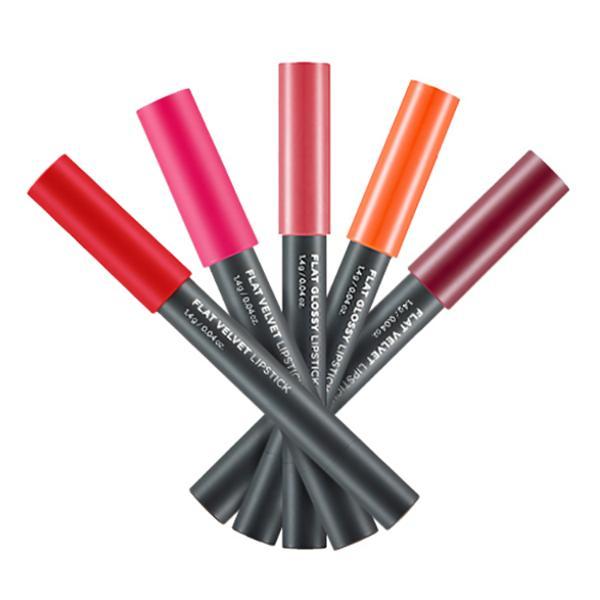 Son Lì Dạng Bút Flat Velvet Lipstick - SLTFS05