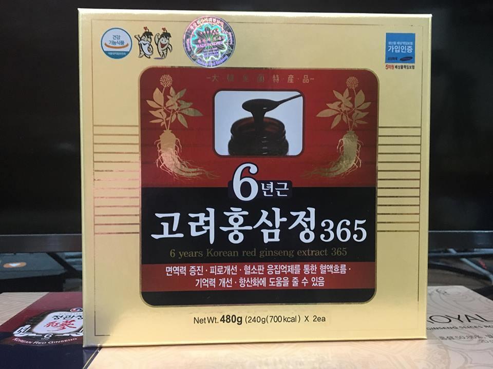 Cao hồng sâm Hàn Quốc 1.750.000
