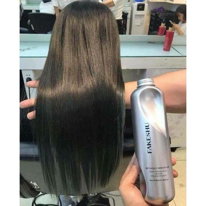 Hấp phủ lụa tơ tằm phục hồi tóc Fakeshu nhập khẩu