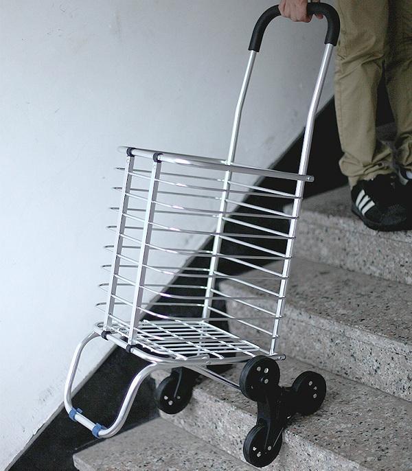 Xe kéo đi chợ cao cấp 3 bánh leo cầu thang siêu nhẹ Homestar 201 HH719