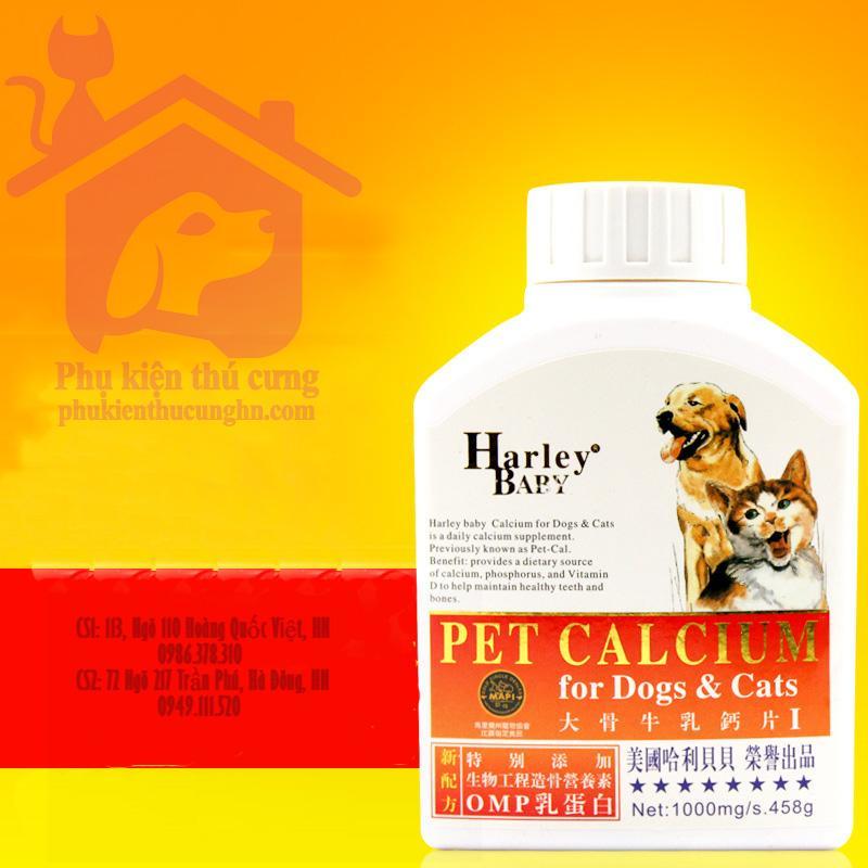 Hình ảnh Canxi cho chó mèo - Calcium chắc xương