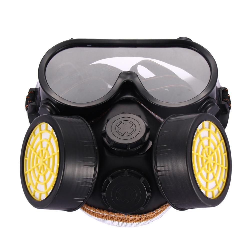 Bộ Mặt nạ Khí gas hóa học công nghiệp Chống Bụi kèm mắt kính thủy tinh (Quốc tế)