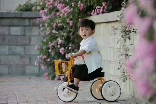 Hình ảnh xe đạp 3 bánh xuất nhật cho bé ( từ 2-7 tuổi)