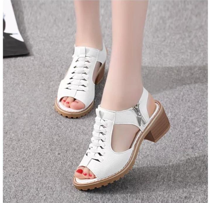Giày Sandal Nữ Phong Cách Hàn Quốc - SS2 Giá Quá Tốt Phải Mua Ngay
