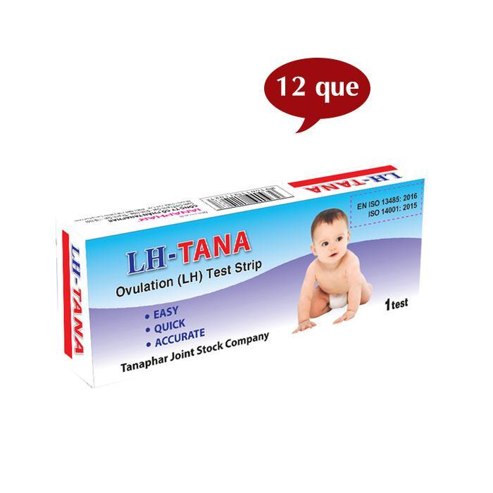 Hộp 12 que thử rụng trứng LH -Tana