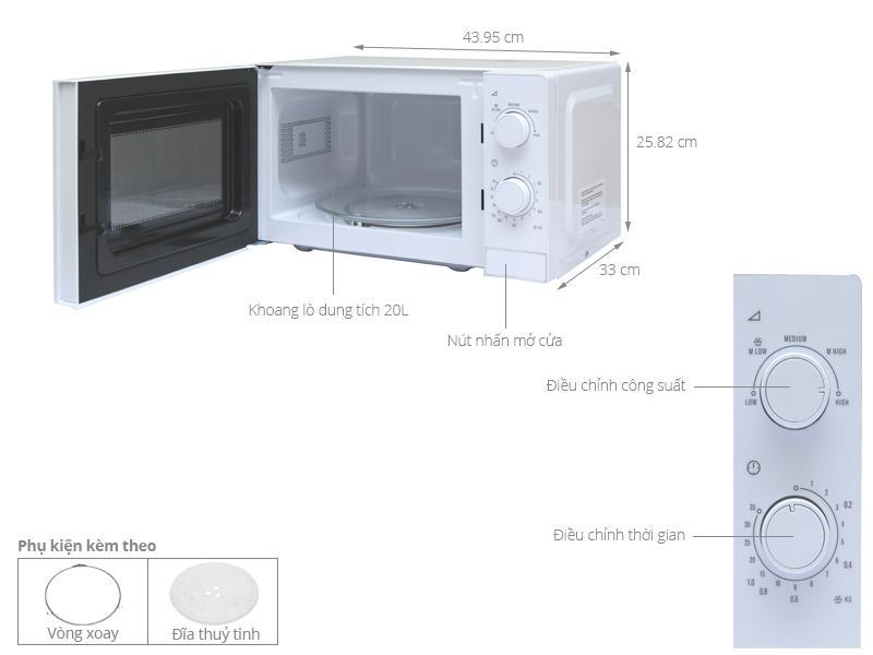 Image result for Lò vi sóng Electrolux EMM2022MW