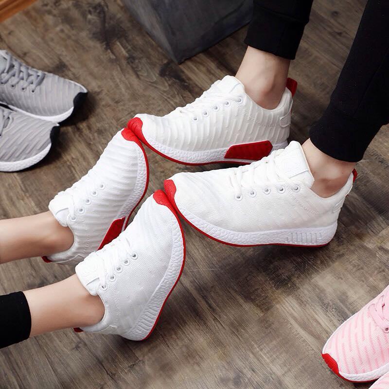 Hình ảnh giày thể thao cặp đôi nam nữ trắng-ilala store-RND2