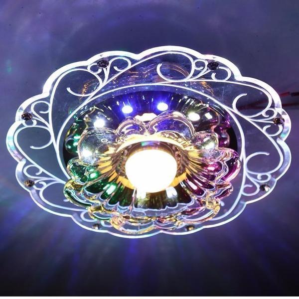 Đèn Led Pha lê ốp trần PLT03