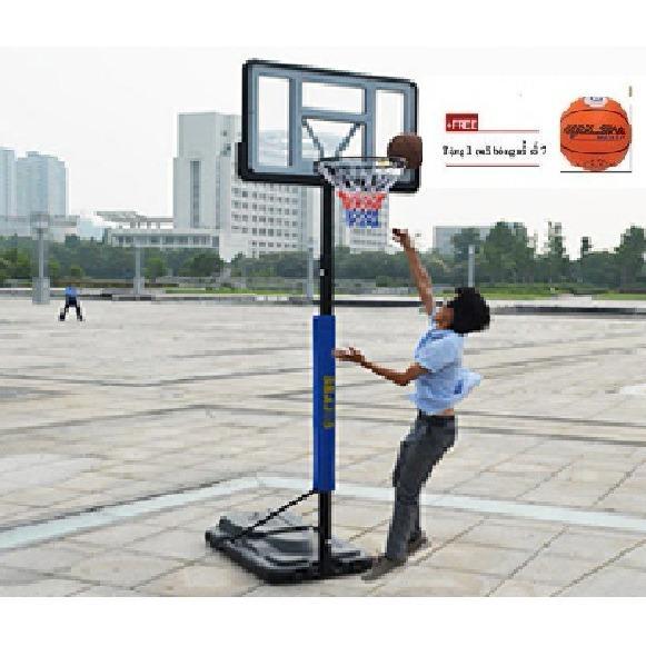 Hình ảnh Sản phẩm Trụ Bóng Rổ S021a + tặng kèm quả bóng rổ số 7