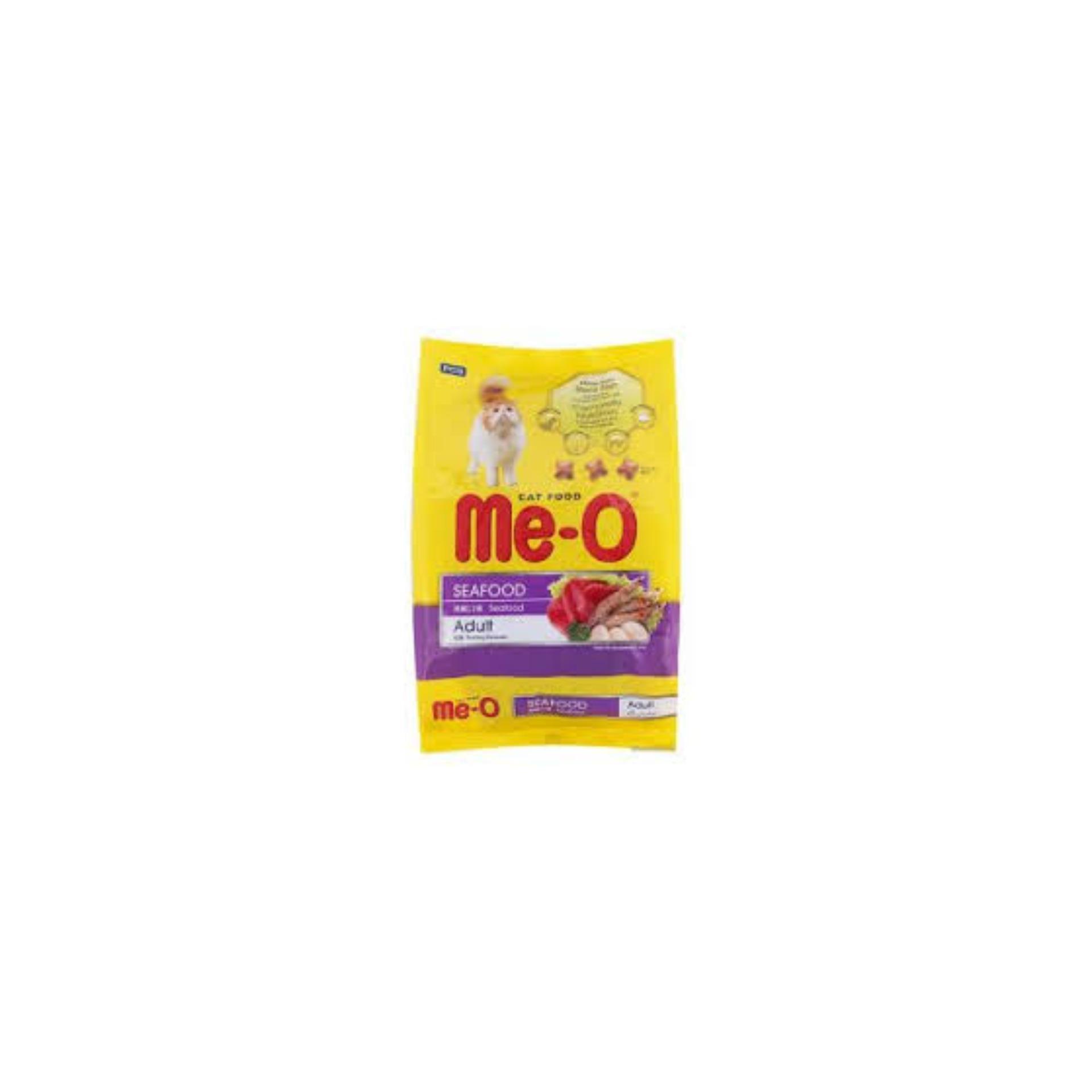 COMBO 5 Gói Thức ăn Dạng Hạt Cho Mèo Lớn ME-O 350gr (vị Hải Sản) Giá Tiết Kiệm Nhất Thị Trường