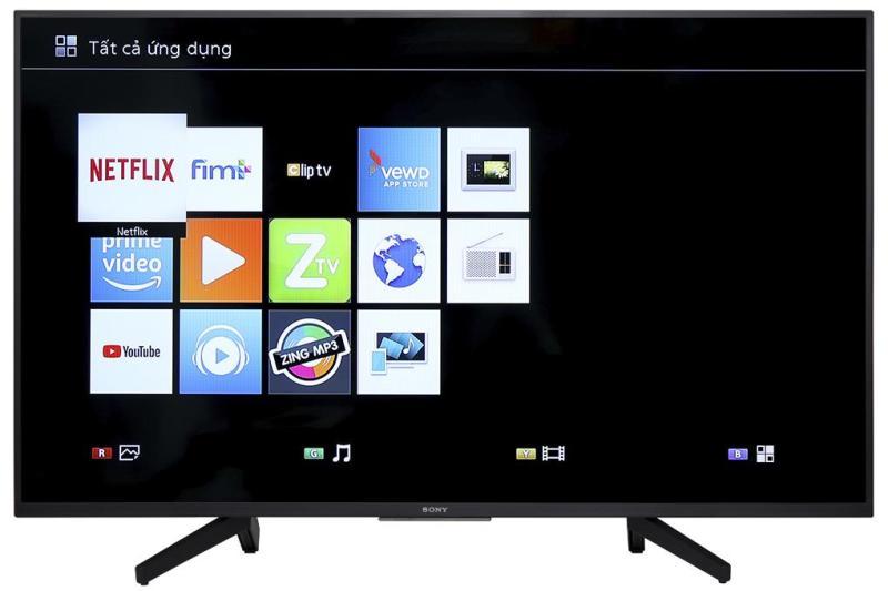 Bảng giá Smart Tivi Sony 4K 43 inch KD-43X7000F Mới 2018