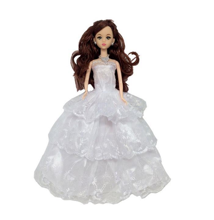 Hình ảnh Búp Bê Công chúa Tuyết H02 Tặng 3 Váy + 10 Đôi Giầy Cao Cấp