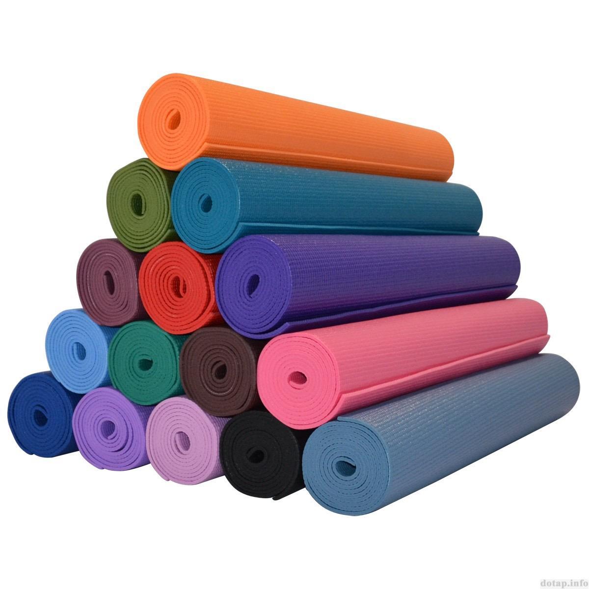 Thảm Tập Yoga Ribobi Trơn 6Mm Đỏ Đo Ribobi Chiết Khấu 30