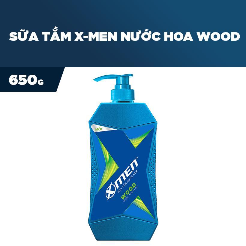 Sữa Tắm Nước hoa X-Men Wood 650g