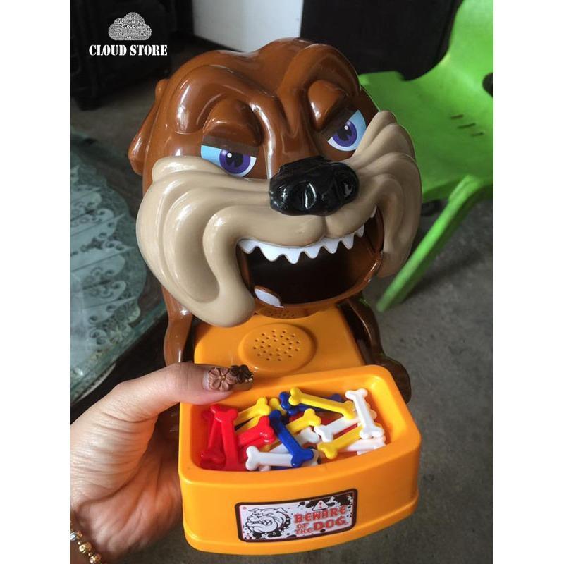 Hình ảnh Bộ đồ chơi chó gặm xương (chú chó nổi giận)