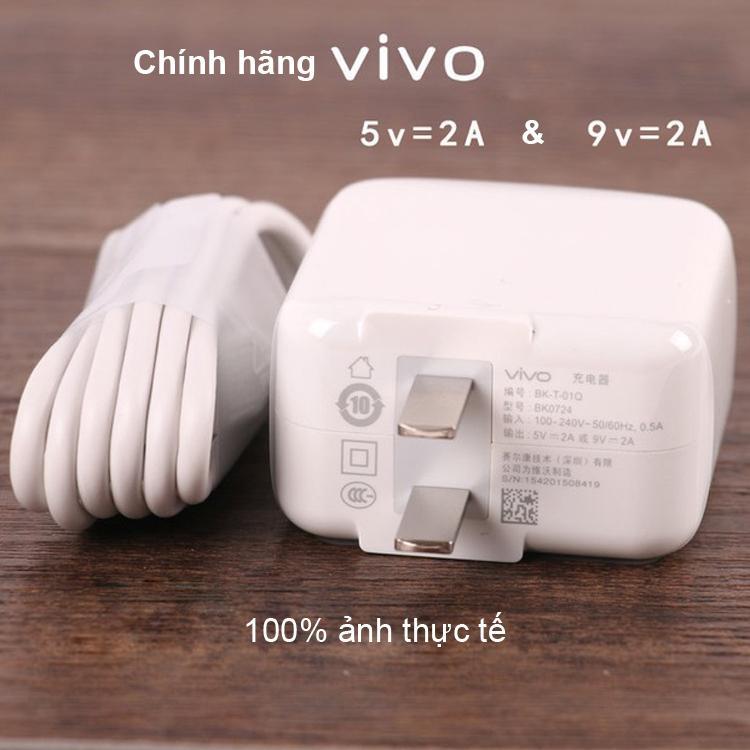 Bộ Sạc Nhanh Vivo Cho Vivo V11i - Hàng Nhập Nhẩu