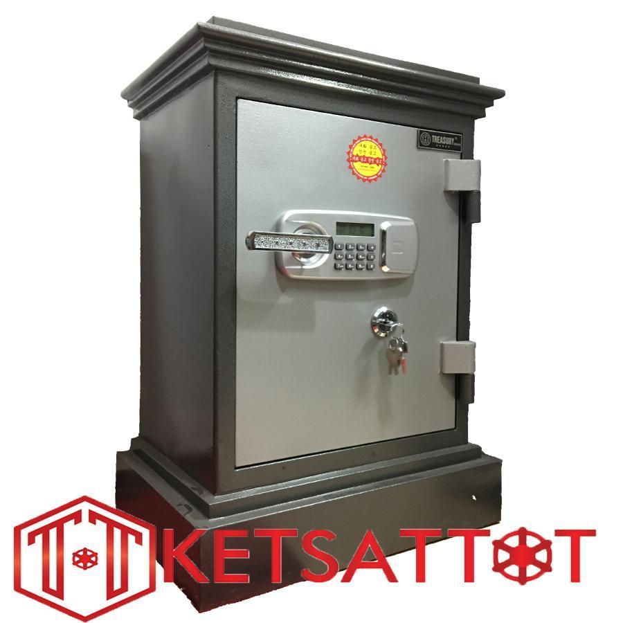 Hình ảnh Két sắt chống cháy cao cấp Treasury Bank TB680 cánh đúc (khóa điện tử )