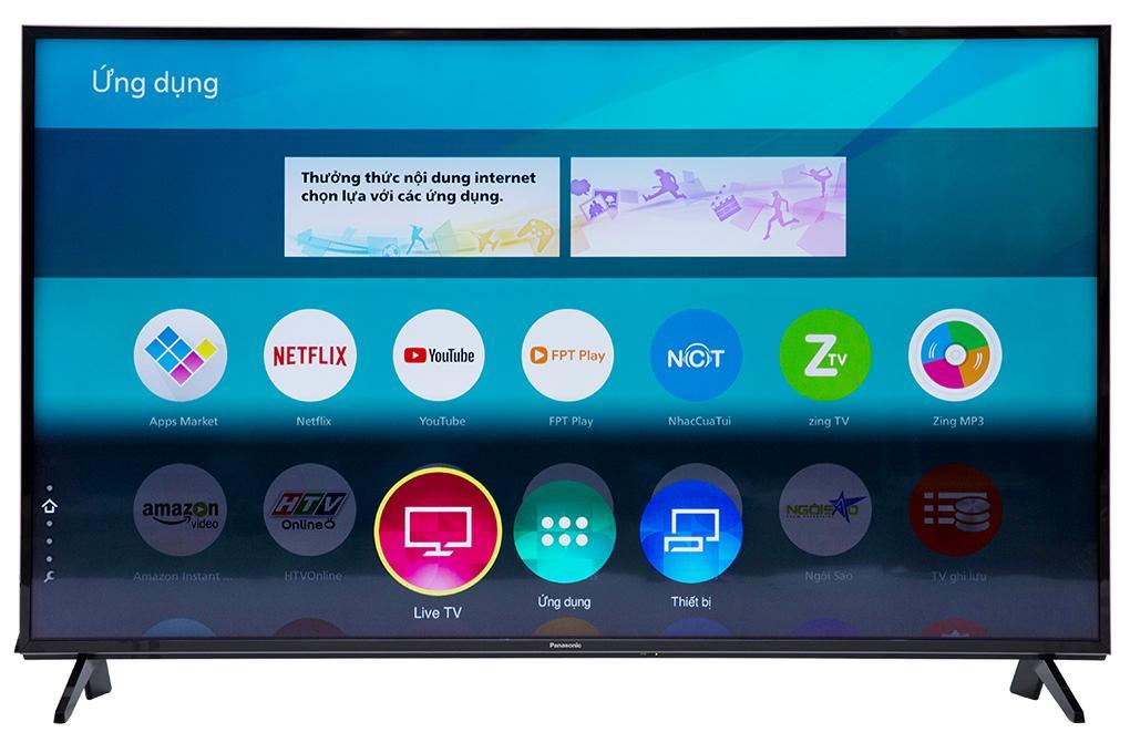 Bảng giá Smart Tivi Panasonic 4K 55 inch TH-55FX600V Mới 2018