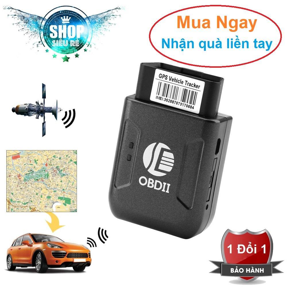 Thiết vị định vị GPS gắn cổng OBD2 cho ô tô cao cấp - GPS Vehicle Tracker OBD II