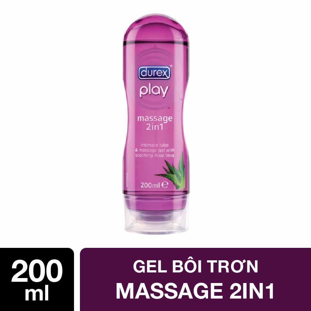 Gel bôi trơn Durex Play Massage 200ml nhập khẩu