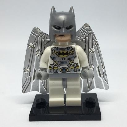Hình ảnh Lego minifigures batman trắng 2 đầu 2018