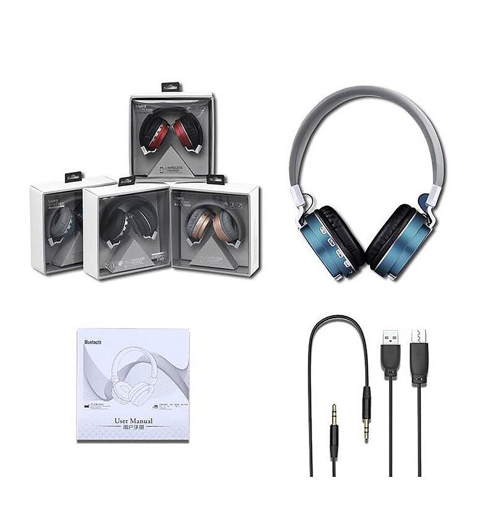 Mua tai nghe có mic tốt, Tai nghe bluetooth, Headphone có mic loại tốt, Cách cho em bé trong bụng nghe nhạc - Tai nghe chụp tai FE018 hay CH02, Bass Chắc, Âm hay - Chuẩn kết nối Bluetooth 4.0 - Âm thanh cực chất - Mã BH 1740