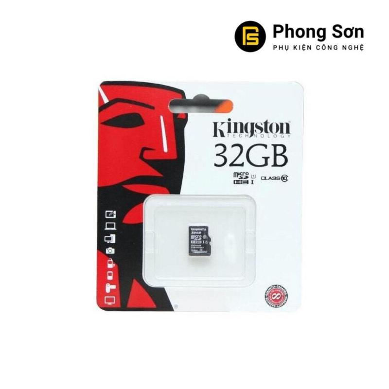 Thẻ nhớ Micro SDHC Kingston 32GB Class 10 80mb/s (Hàng tem FPT)