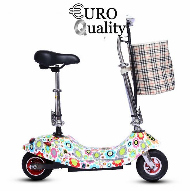 Giá bán Xe điện scooter tải trọng 120kg 24V (có giỏ xách) Sun Flower