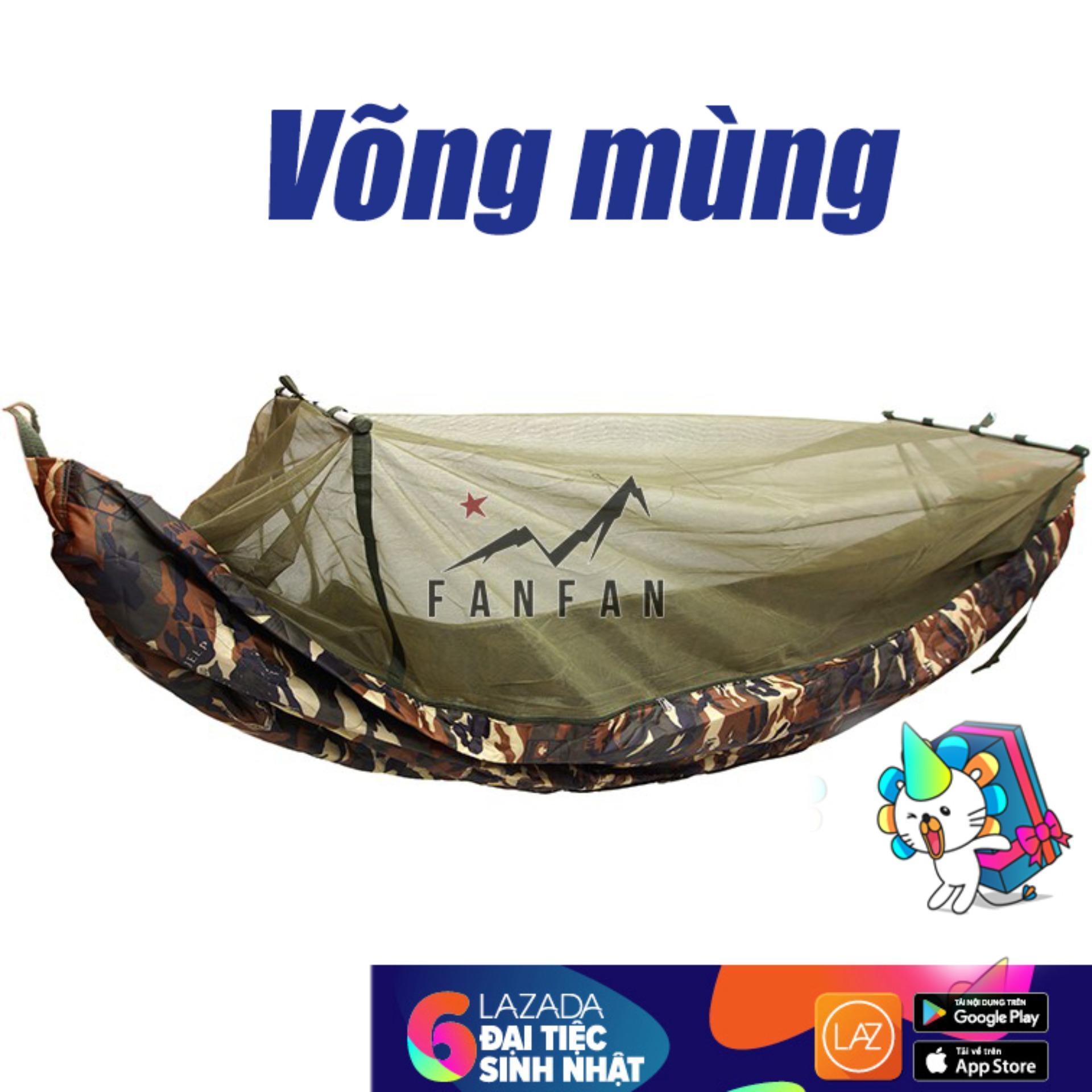 Hình ảnh Túi ngủ Biệt Kích Mỹ Phối Mùng Chống Muỗi 2 lớp Siêu Bền (137 * 220 cm)