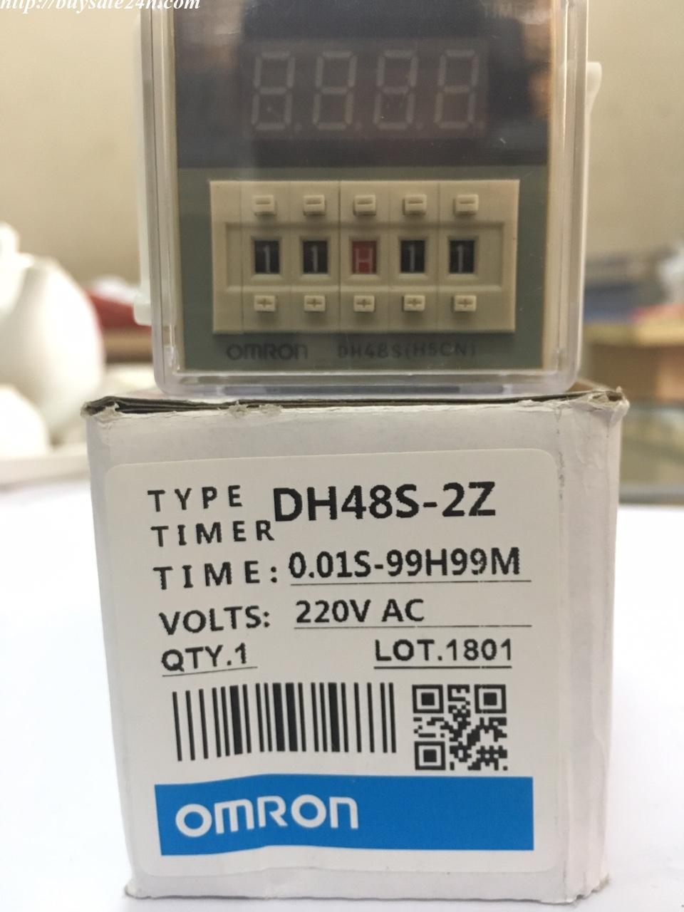 Timer điều khiển on delay 2 cấp điều khiển DH48 S-2Z