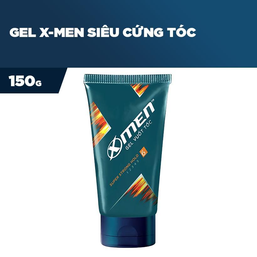 Gel vuốt tóc X-men Siêu cứng tóc 150g chính hãng