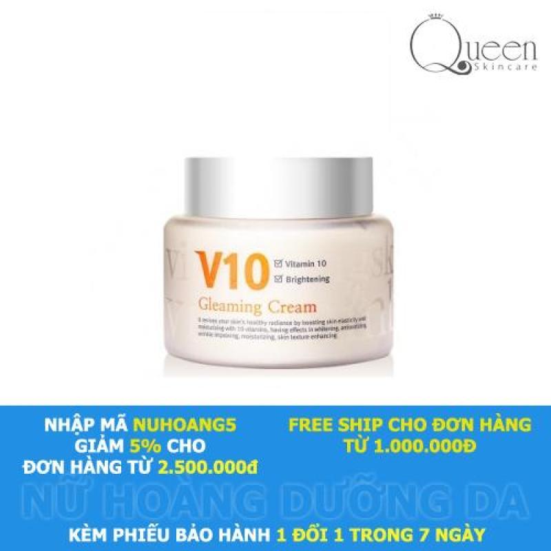 Kem dưỡng trắng sáng da mặt V10 Skinaz nhập khẩu