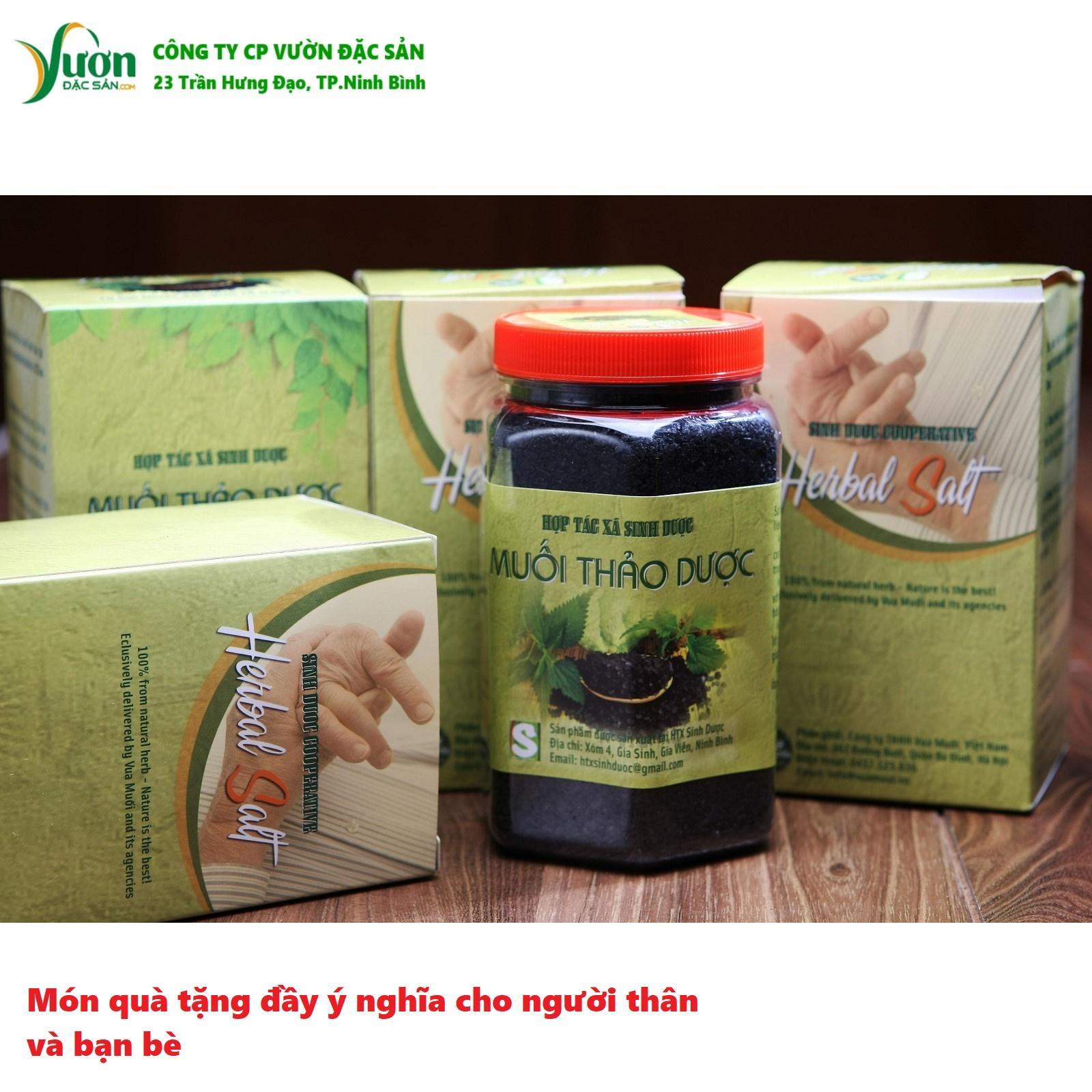 Muối thảo dược ngâm chân Sinh Dược 550gr 100% tự nhiên từ bài thuốc cổ truyền -VDS.,jsc
