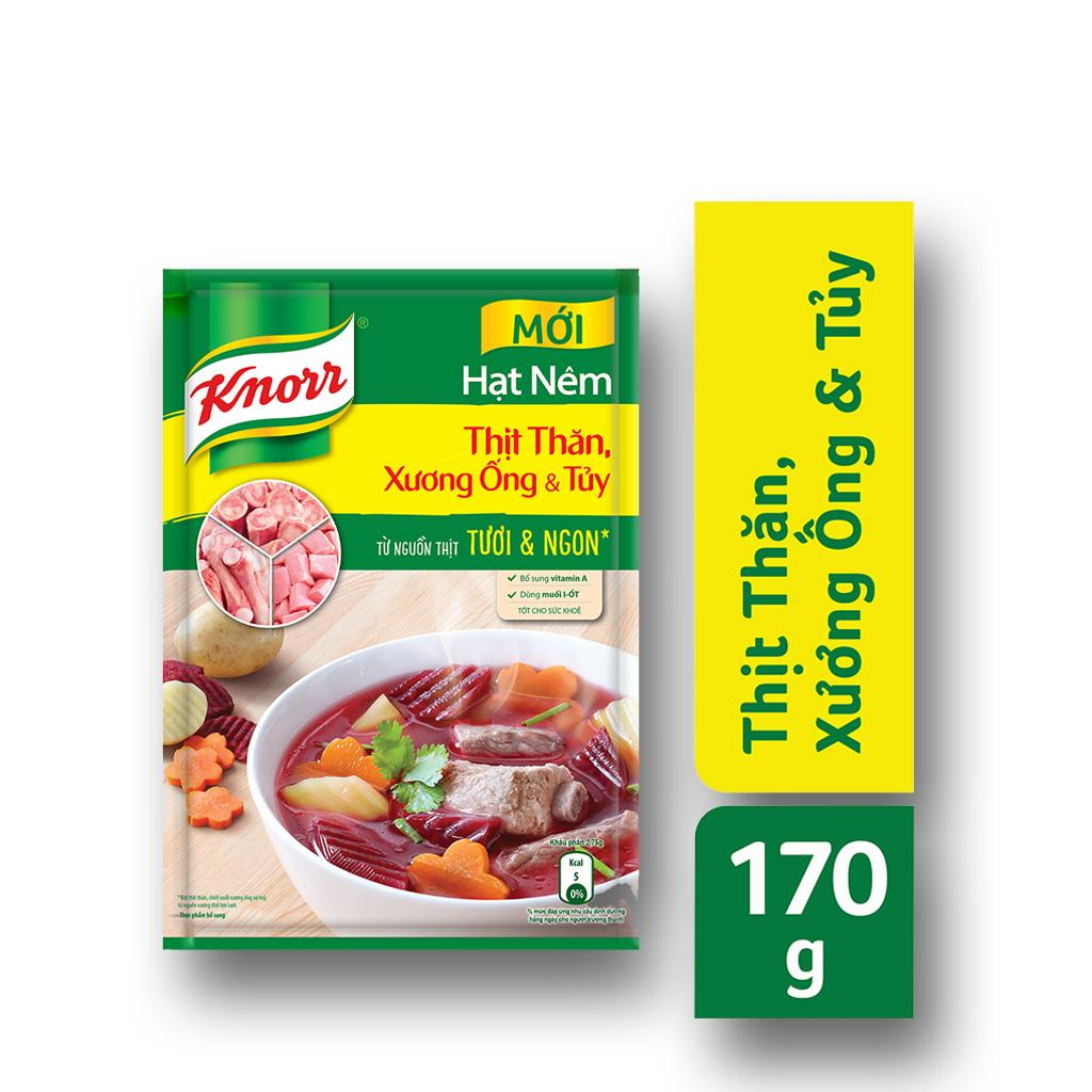 Hình ảnh Hạt nêm Knorr Thịt thăn xương ống tủy gói 175g