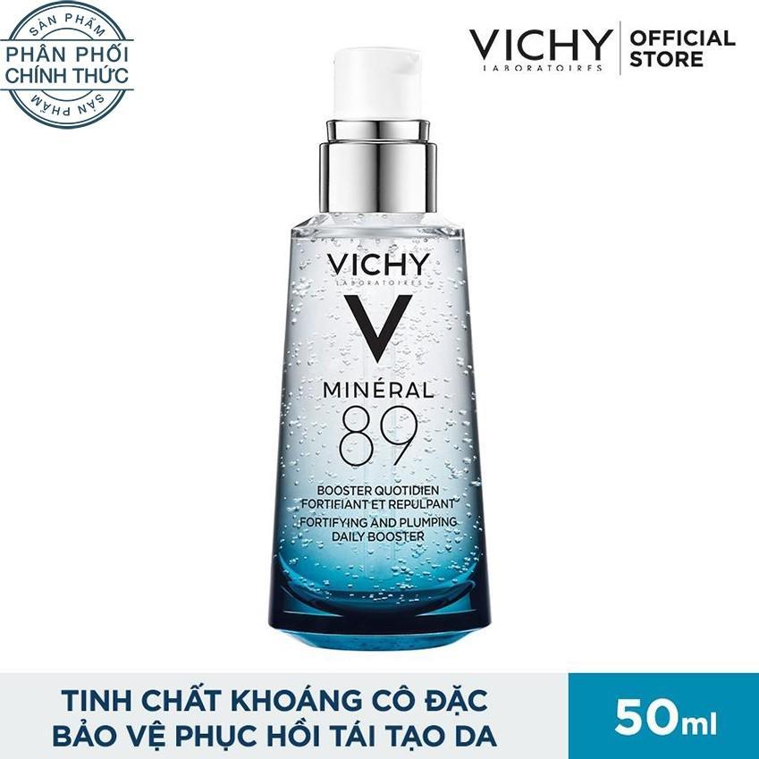 Dưỡng chất khoáng cô đặc giúp phục hồi và bảo vệ da Vichy Mineral 89 50ML