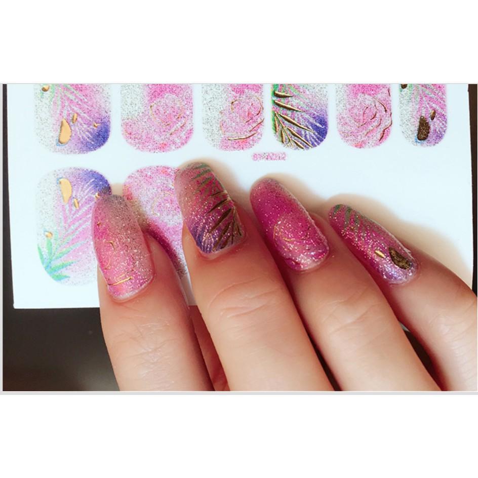 Nail art sticker dán móng tay N25 tốt nhất